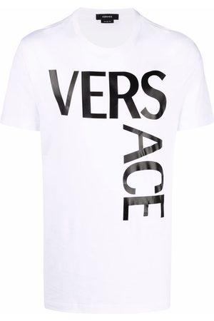 VERSACE Muži S krátkým rukávem - Logo-print slim-fit T-shirt