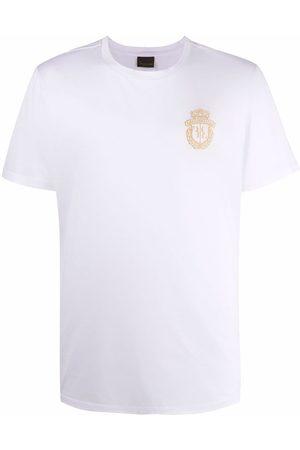 Billionaire Muži S krátkým rukávem - Embroidered-logo cotton T-Shirt
