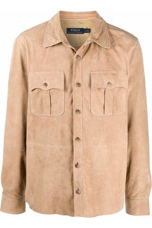 Polo Ralph Lauren Muži Kožené bundy - Suede safari jacket