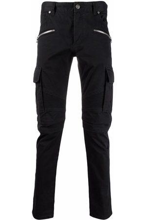 Balmain Muži Rovné nohavice - B-embossed cargo jeans