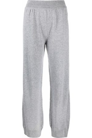Barrie Tapered-leg cashmere trousers