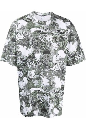 Kenzo Graphic-print organic cotton T-shirt