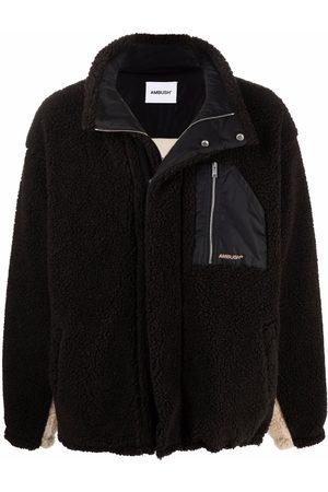 AMBUSH Panelled sherpa jacket