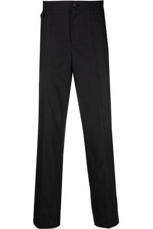 Alexander McQueen Straight-leg cotton trousers