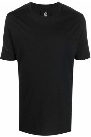 THOM KROM Contrast-stitch short-sleeve T-shirt