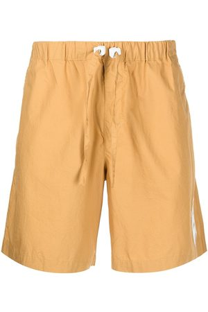 ROMEO HUNTE Crinkled drawstring-waist shorts