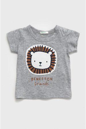 Benetton Dětské bavlněné tričko