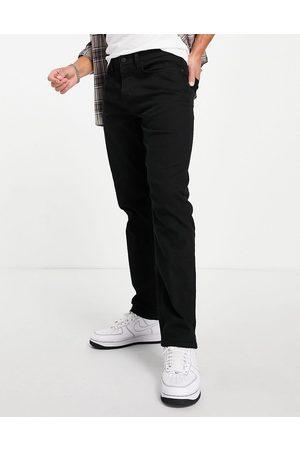 River Island Muži Rovné nohavice - Straight jeans in black