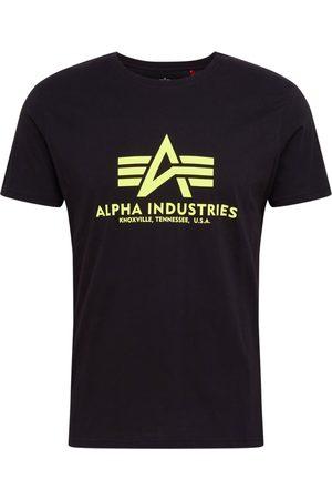 Alpha Industries Tričko 'Basic T Neon Print