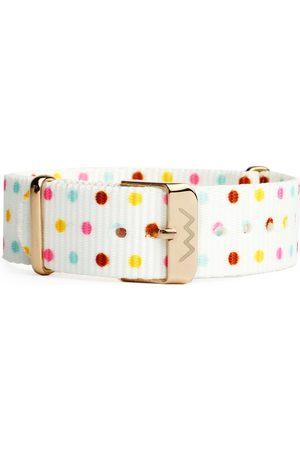 Vuch Nylonový pásek Rose Gold Dots