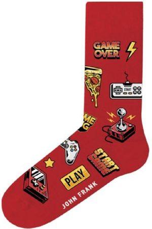 JOHN FRANK Muži Ponožky - Pánské ponožky JFLSFUN87 UNI