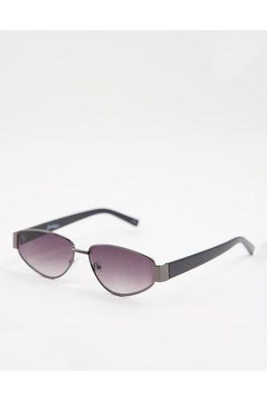 Jeepers Peepers Muži Sluneční brýle - Mens square sunglasses in black