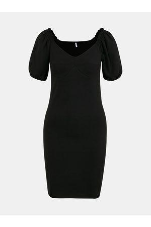 ONLY Černé pouzdrové šaty Niff
