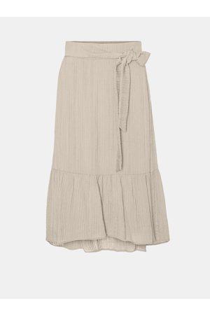 VERO MODA Midi sukně Hajija