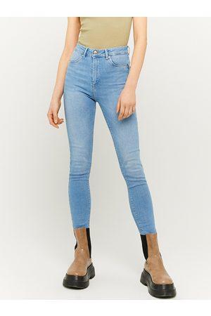 Tally Weijl Světle modré skinny fit džíny