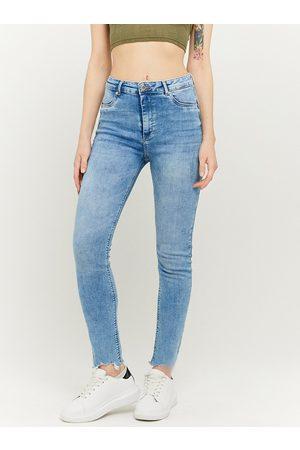 Tally Weijl Světle modré zkrácené skinny fit džíny