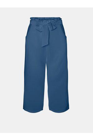 VERO MODA Modré culottes Akela