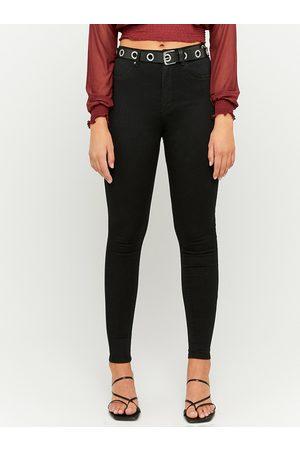 TALLY WEiJL Černé slim fit džíny