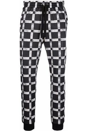 John Richmond Check-print sweatpants