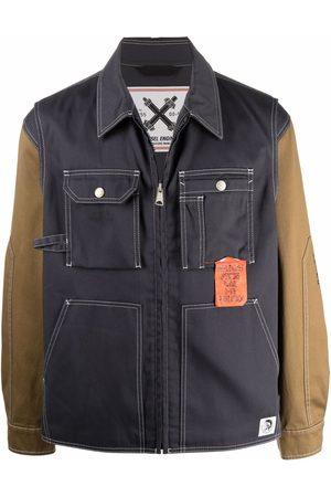 Diesel J-Howe-LS panelled denim jacket