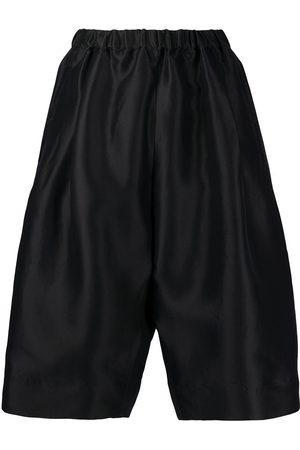 Nº21 Wide-leg bermuda shorts