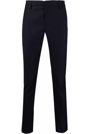 Dondup Straight-leg virgin wool trousers