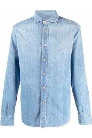 Eleventy Button-up denim shirt