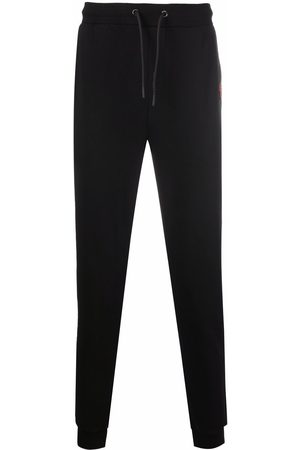 Karl Lagerfeld Embroidered-logo patch track trousers