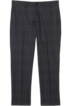 Burberry Tailored check-print trousers