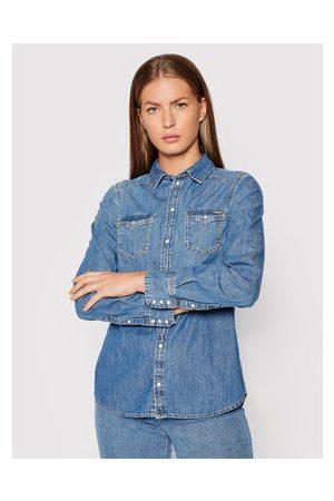 Pepe Jeans Ženy Džínové košile - Džínová košile