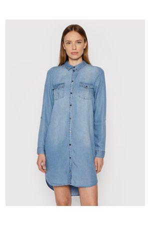Vero Moda Ženy Džínové šaty - Džínové šaty