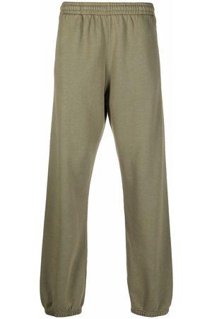 Off-White Muži Úzké nohavice - RUBBER ARROW SLIM SWEATPANT GREEN GREEN