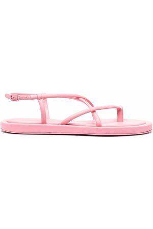 Alexander McQueen Strappy flat sandals