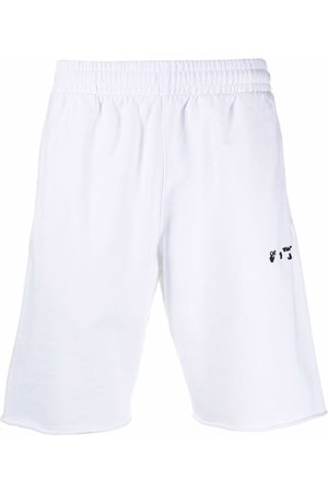 Off-White Muži Kraťasy - Logo-print track shorts