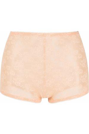 Nº21 Floral-lace shorts