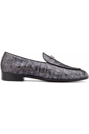 Giuseppe Zanotti Bizet crocodile-effect loafers