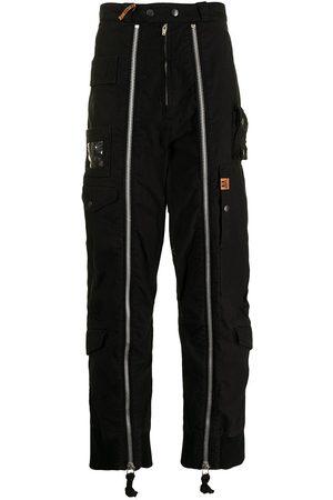 Maison Mihara Yasuhiro Zip-detail wide-leg trousers