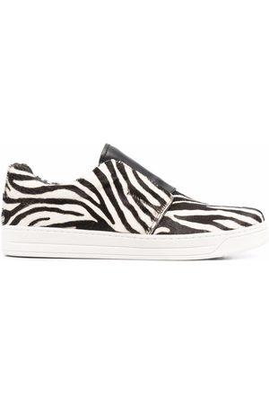 Prada Zebra-print sneakers