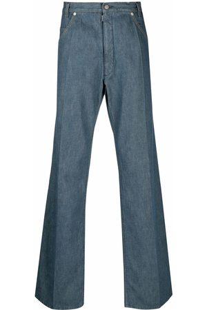 Maison Margiela Four-stitch logo straight-leg jeans