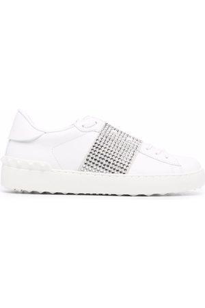 Valentino Garavani Open crystal-embellished sneakers