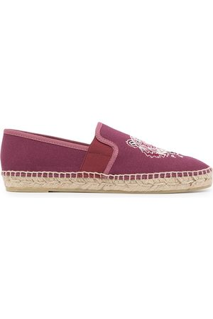 Kenzo Embroidered-tiger espadrilles