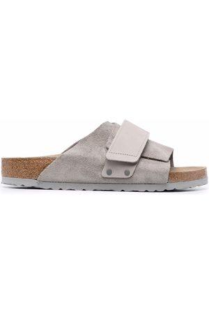 Birkenstock Layered-strap leather sandals