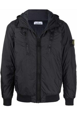 #Mumofsix Zip-up hooded bomber jacket