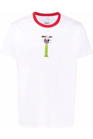 DOUBLET Embroidered clown-motif T-shirt