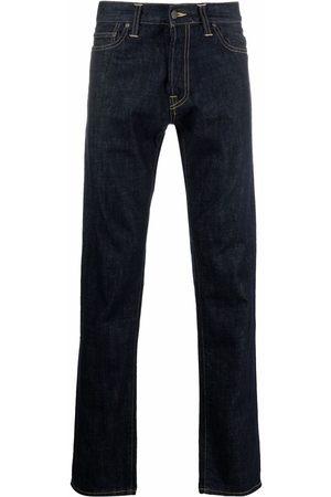 Carhartt WIP Logo-patch jeans