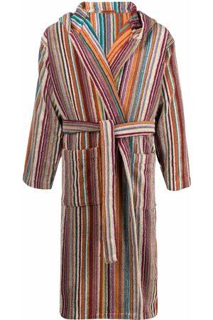 Missoni Home Župany - Striped tie-fastening bath robe