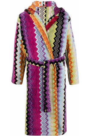 Missoni Župany - Giacamo zigzag-woven bath robe