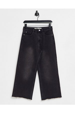 Brave Soul Melody straight leg jeans in washed black