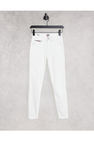 Tommy Hilfiger Sylvia high rise skinny jeans in white