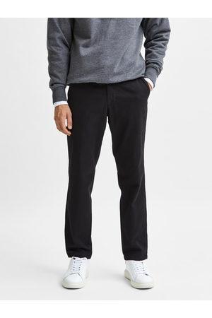 SELECTED Černé slim fit kalhoty Miles